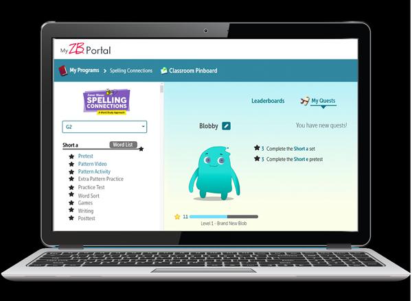 Spelling Student Portal