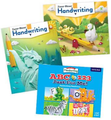 Handwriting ABC Covers