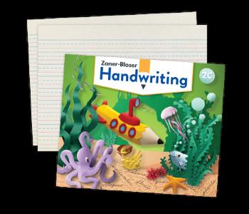 Zaner-Bloser Handwriting Covers