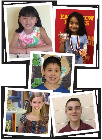 2020 Handwriting Contest Winners