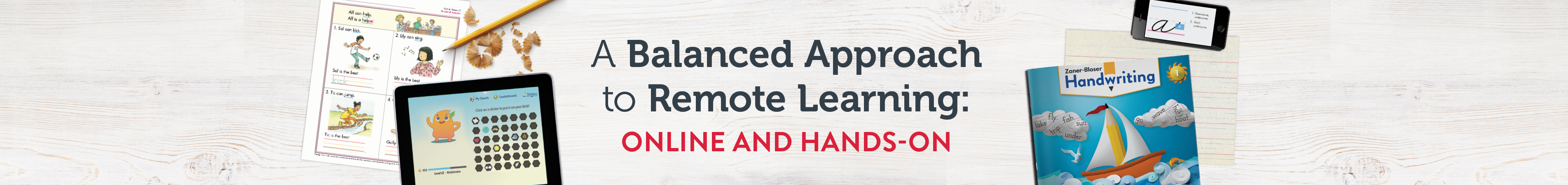 A Balanced Approach to Remote Learning: Online and Hands-on