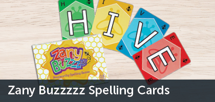 zany buzz cards